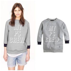 "J. Crew Tops - Public School for J.Crew ""My PS Crew"" sweatshirt"